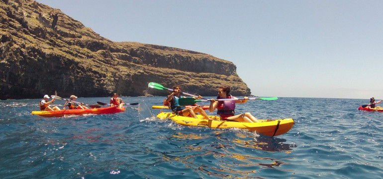 Rutas en Kayak de Mar (Valle Gran Rey)